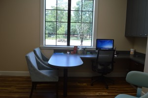 New Patient Consult Room: Desk & Seating