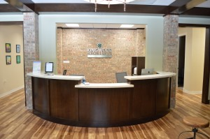 Reception: Front Desk & Check-In